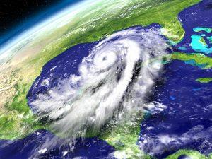 Orbit View Of Hurricane Matthew